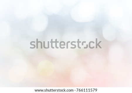 Christmas lights Nature blurred or bokeh color snow glow colorful light sparkling background. #766111579
