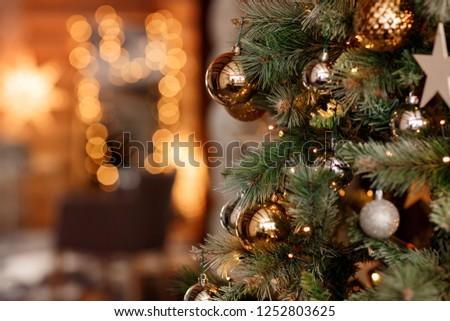 Christmas lights (new year) #1252803625