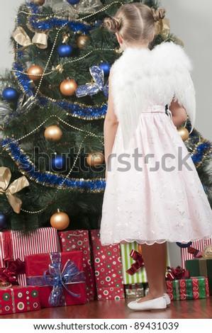 Christmas miracle - cute Christmas Angel