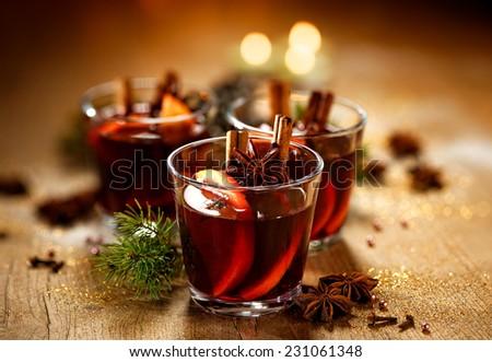 Christmas mulled wine Сток-фото ©
