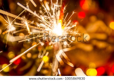Christmas New year, bokeh