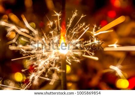 Christmas New year, bokeh #1005869854