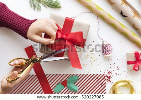 Christmas New Year Celebration Decorations Concept