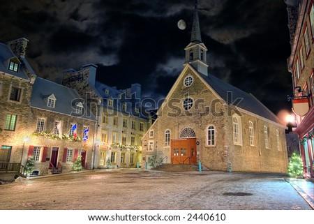 Canada+city+night