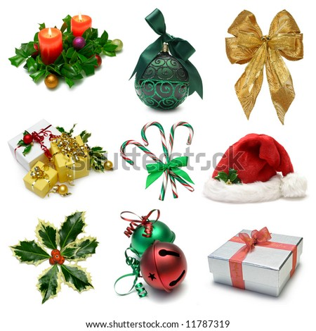 Christmas Objects Sampler