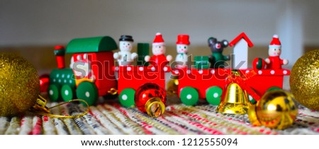 christmas Ornaments Background - Shutterstock ID 1212555094