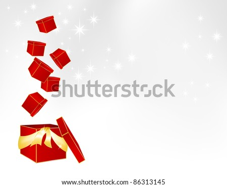 Christmas parcels - gift box