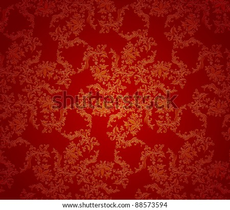 Christmas red background seamless texture