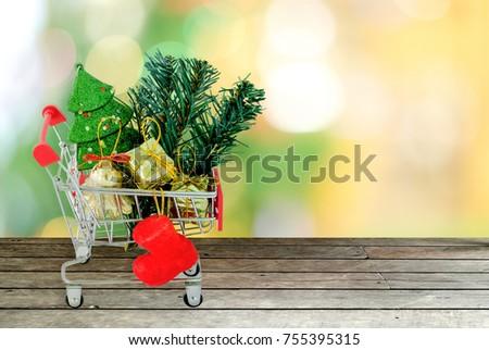 christmas sale and shopping...