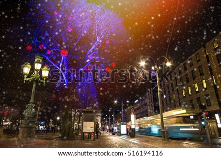 Christmas selebrations in Sweden at december night. #516194116