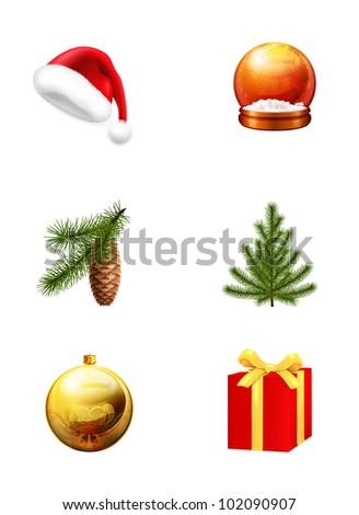Christmas set, bitmap copy