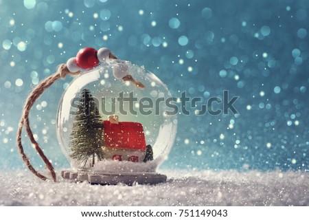 Christmas Snow globe   #751149043