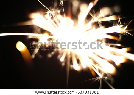 Christmas sparkler  holiday  background for xmas  new year #537031981