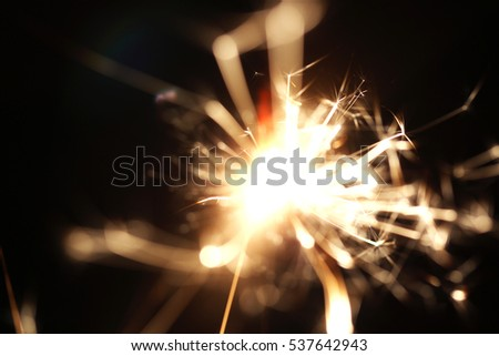 Christmas sparkler  holiday  background for xmas  new year #537642943