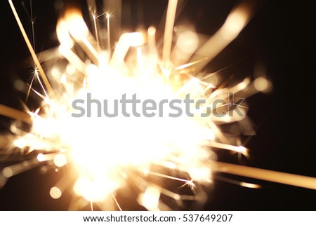 Christmas sparkler  holiday  background for xmas  new year #537649207