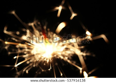 Christmas sparkler  holiday  background for xmas  new year #537916138