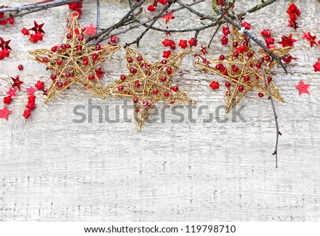 Christmas Stars with Branches