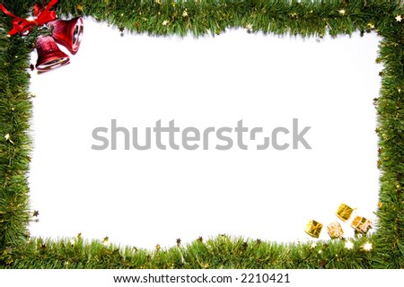 Christmas still-life isolated on white background #2210421