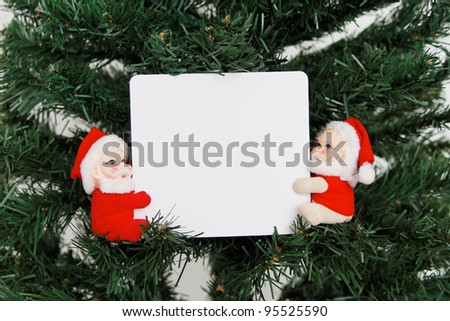 Christmas theme: Christmas message