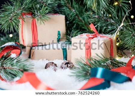 White christmas themed gift ideas