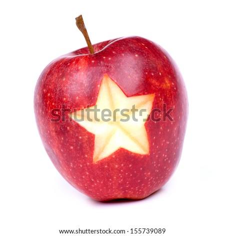 Stock Photo Christmas time, apple