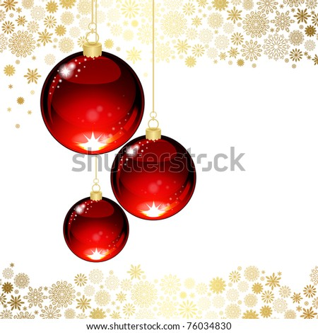 Christmas transparent ball #76034830