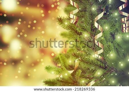 Christmas tree #218269336