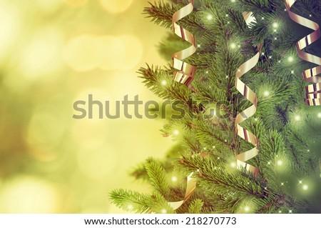 Christmas tree #218270773