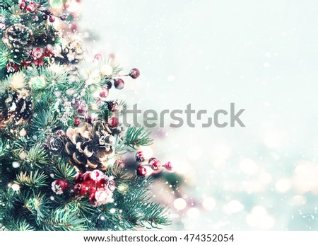 Christmas tree. #474352054