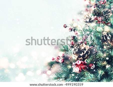 Christmas tree. #499190359
