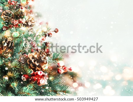 Christmas tree. #503949427