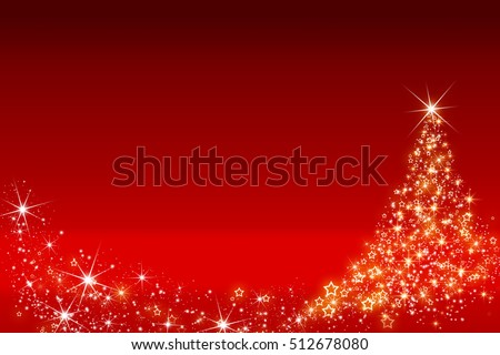 christmas tree background made...