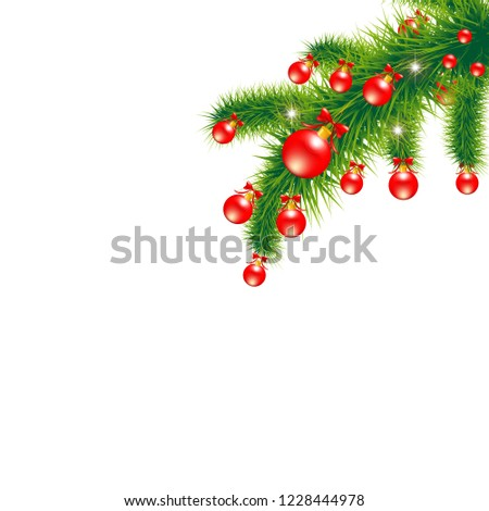Christmas tree decor #1228444978
