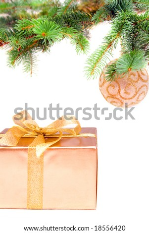 christmas tree decoration and gift