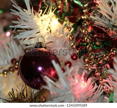 Christmas Tree Decorations #1245099289