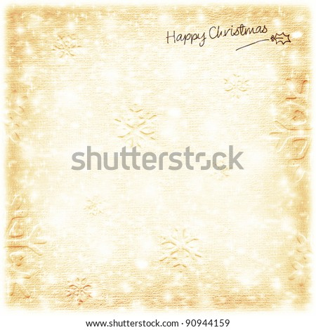 Christmas tree green border with big golden Santa's reindeer toy, hanging bauble,traditional ornament and decoration for winter holidays, isolated on white background, decorating home at Christmastime