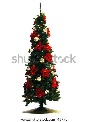Christmas tree II  - stock photo
