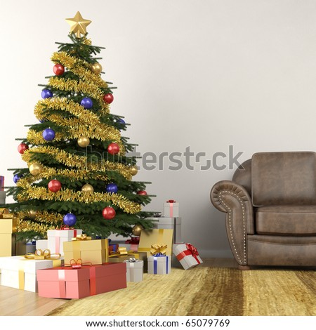decorations ideas christmas living room