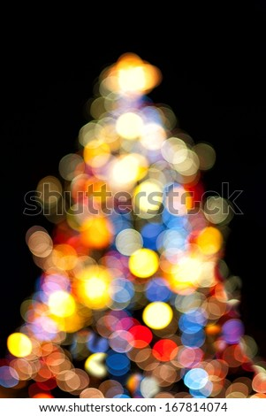 Christmas Tree Lights #167814074