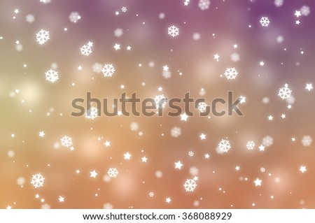 Christmas vintage background. The winter background, falling snowflakes #368088929