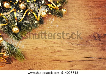 Christmas wooden background #514028818