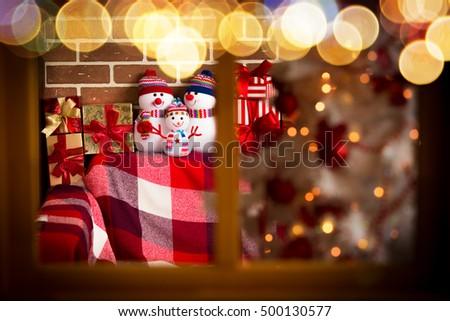 Christmas Xmas Winter Holiday Concept #500130577