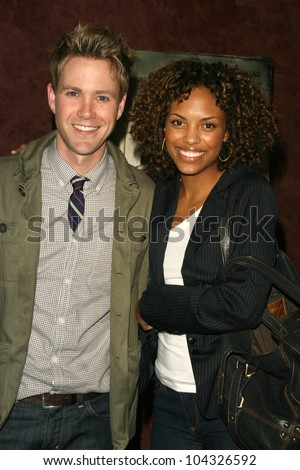 Christopher J. Hanke and Jaime Lee Kirchner at the Los Angeles Premiere of 'Surveillance'. The Landmark, Los Angeles, CA. 06-15-09