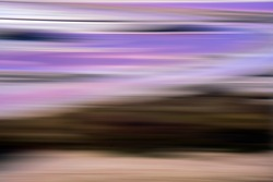 Chromatic plane achieved by moving a camera and inspired by Mark Rothko
