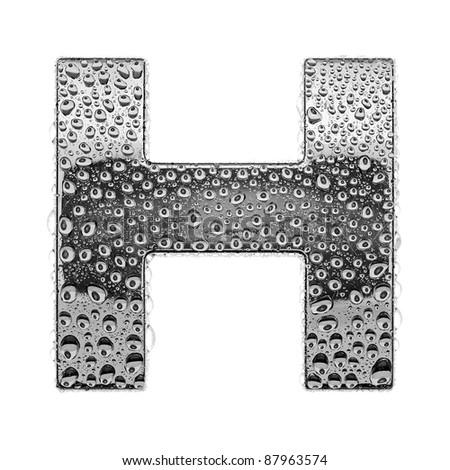 h alphabet pictures  chrome alphabet symbol - letter