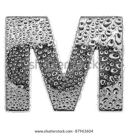 m alphabet letter  Alphabet Letter Chrome alphabet