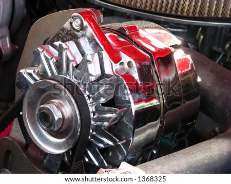 chrome alternator