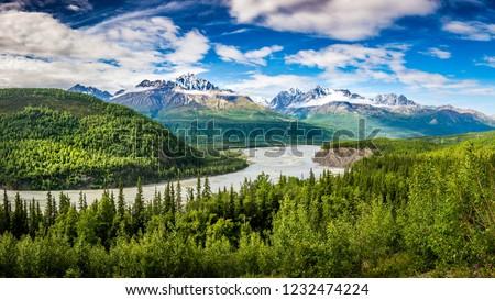 Chugach Alaska Range Stock fotó ©