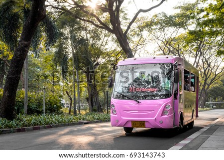 Chula Electrical Shuttle Bus