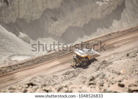 Chuquicamata copper mine, Chile.